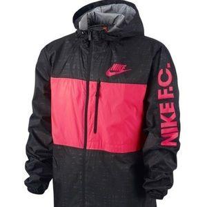 Nike F.C. Jacket Winger Packable Black/Pink